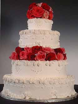 Wedding Flower Packages on Las Vegas Wedding Cakes